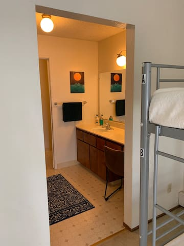 Sunshine Place - Room 2A | Top Bunkbed