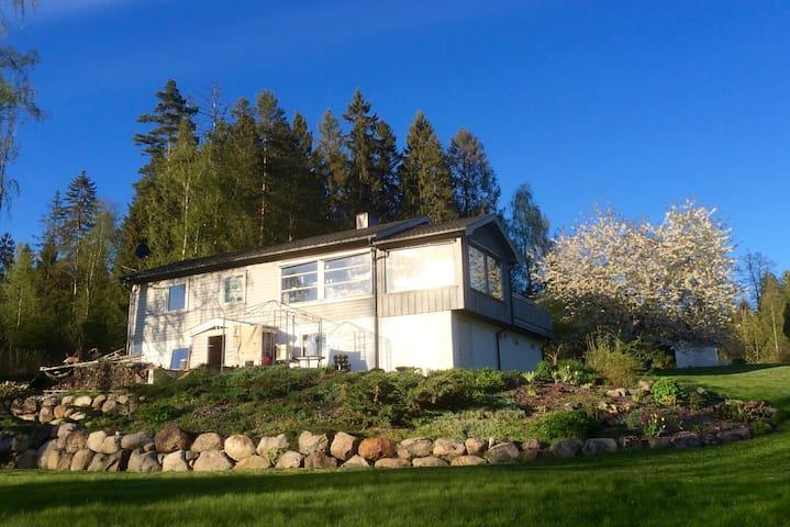 Huset i skogen - Ski - Hus
