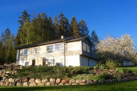 Huset i skogen - Ski