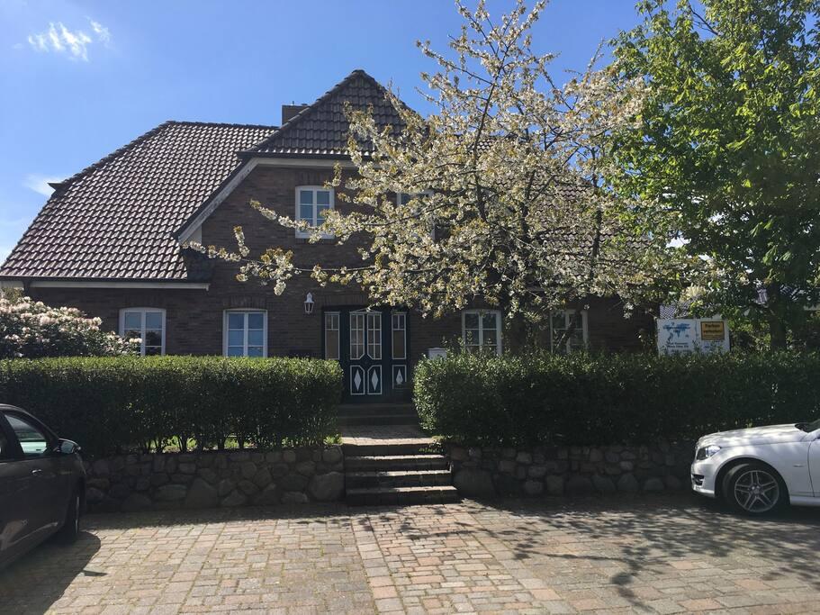 Unser schönes Haus im Friesenstil