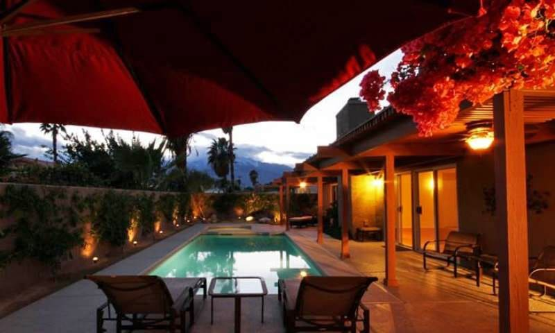 Cathedral City Vacation Home with Upscale Finishes and an Amazing Spa and Swimming Pool