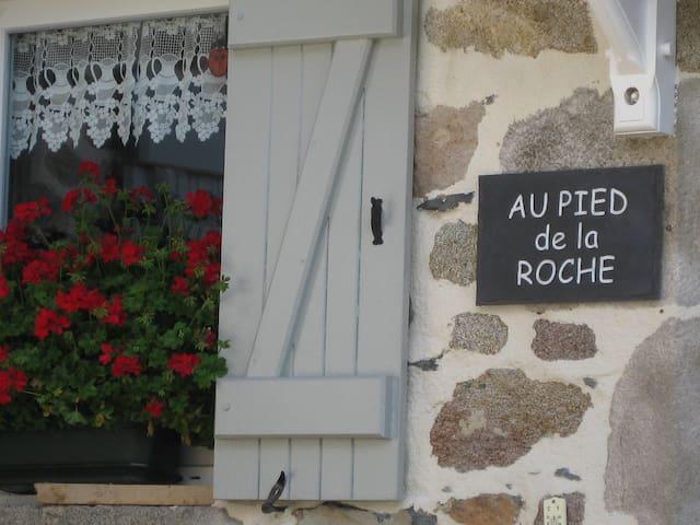 Au Pied de la Roche, Gite 2 - Roche-en-Régnier - Apartament