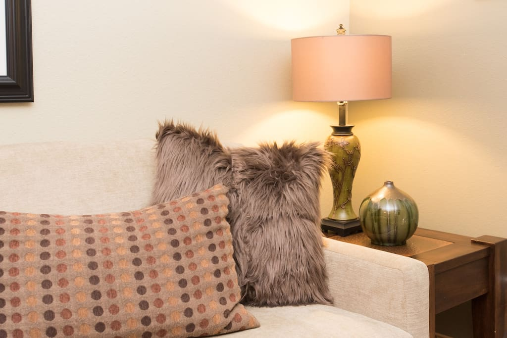 Pillows! We love them, and so will you! Red Pine Condo
