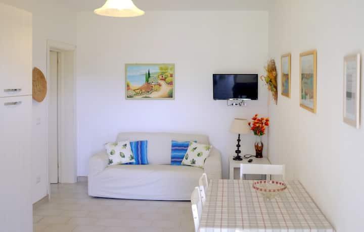 Comodo appartamento con vista