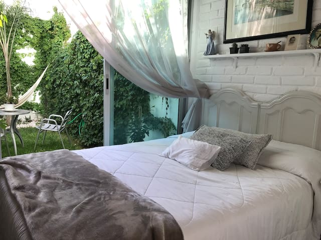 Hermosa Habitación con baño y terraza