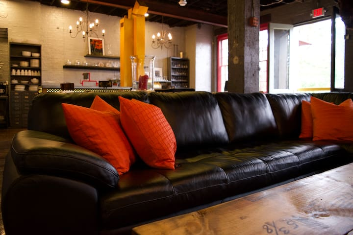 """Industrial Glam Loft """"The Prosecco Room"""""""