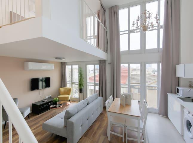 Stylish Duplex Apartment - Nahalat Binyamin Market
