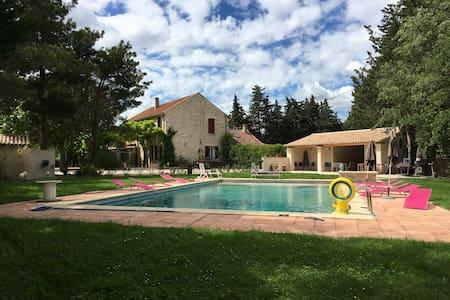 Superbe Bastide tout confort - Saumane-de-Vaucluse - Rumah