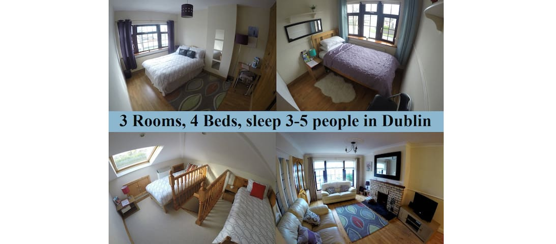 3rooms, 4beds, 3-5people - Dublin - Дублин - Дом