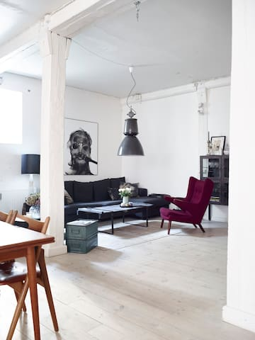 170m2 NYC Style in the heart of CPH - København - Apartment
