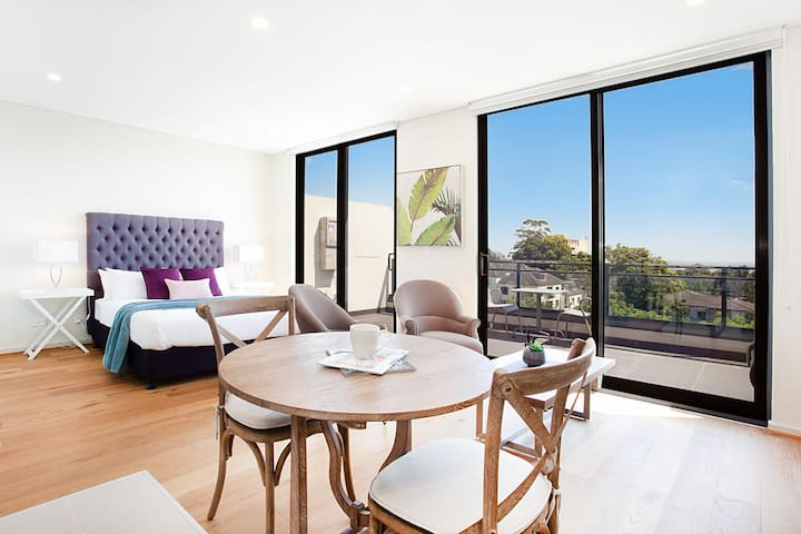 STAY&CO - Amazing Studio Serviced Apartment in Crows Nest (12,13)