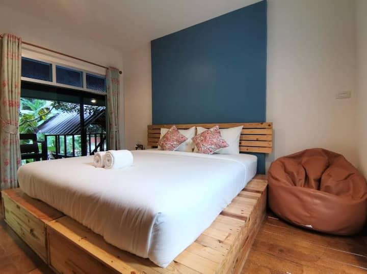 Double Room with Mountain at Nua Tone Resort