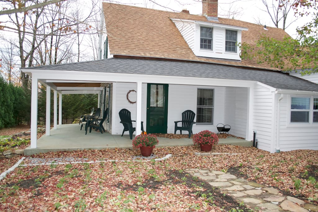 Once on the stagecoach road, this home is close to the centers of Colebrook and Norfolk, CT.
