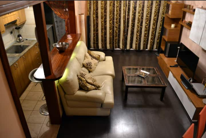 Comfortable and FANTASTIC DUPLEX with INTERNET