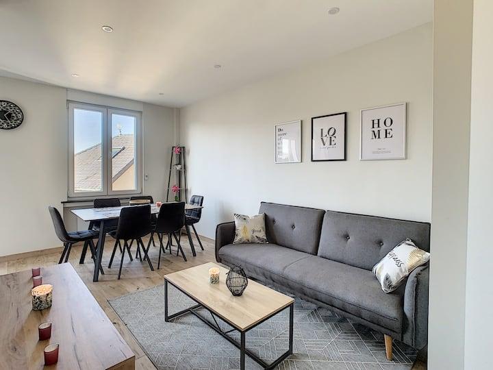 Appartement neuf Metz Ban Saint Martin 4 personnes