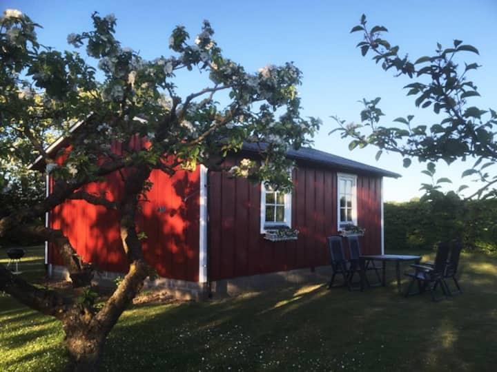 Egen stuga i Ängalag mellan Torekov och Båstad