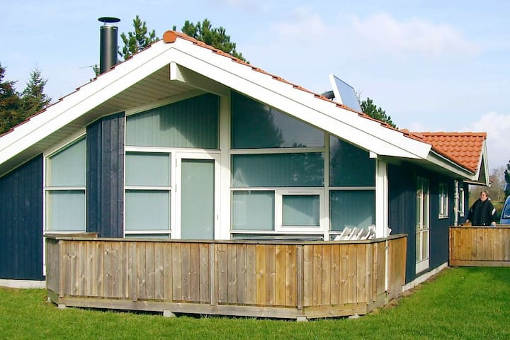 Spacious Holiday Home with Roofed Terrace at Rødby