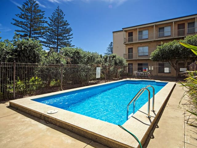 Perfect Beach-Side 2-Bedroom Apartment with Pool