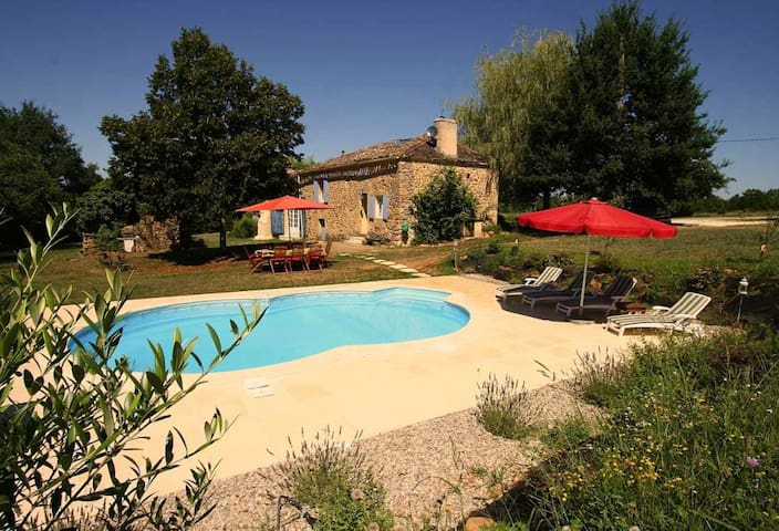 La Petite Reverie at La Martinie - Monpazier - House