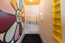 Smilebooth in lobby to help our guests capture all of the fun while they are here. We cannot wait to see the pics you post online.