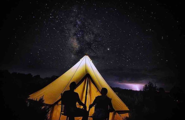 Sweet Grass Luxury Camp Site 🌾