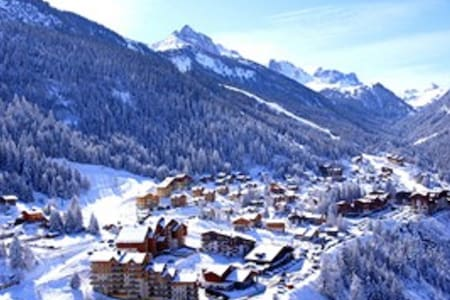 Duplex 6/8 pers.  gondola at only 50meters WIFI - Modane