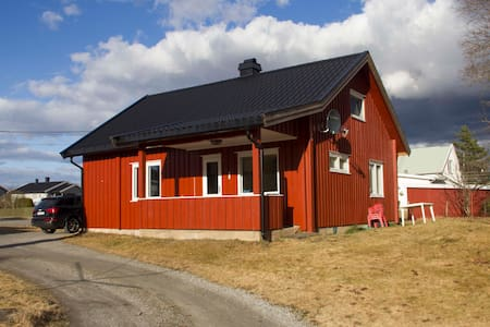 Whole house at Råholt/Eidsvoll nearby OSL airport - Råholt - Hus