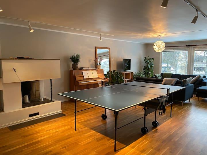 Uniquely located, spacious apartment in Oslo
