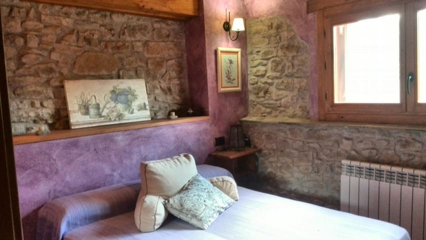 "Habitaciones Dobles en  ""Casalet de la Clua"" - Sant Esteve de la Sarga - Casa de campo"