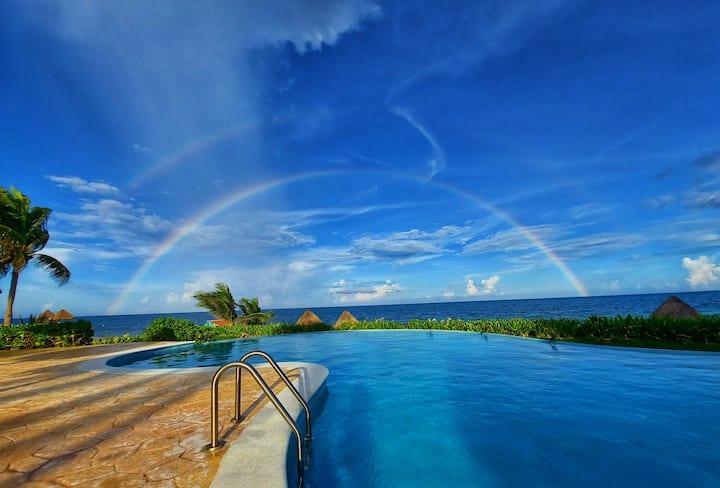 Elegance and Comfort beachfront Riviera Maya V3