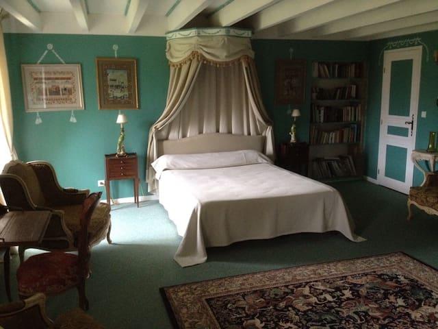 Chambres d'hôtes de Cadalen Lautrec, Chambre verte - Lautrec - Guesthouse