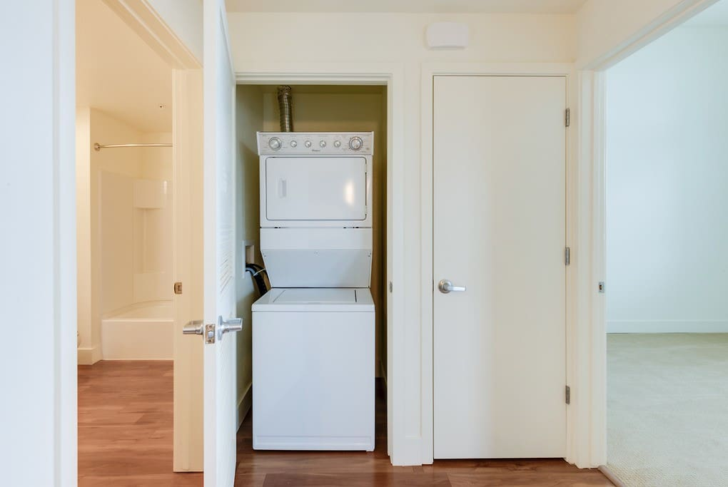 The washer/dryer to share with us