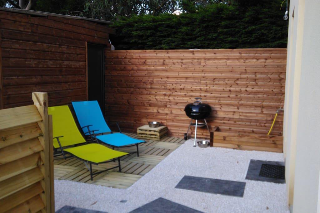 Terrasse détente