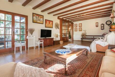 Nice house vs garden and pool - Banyeres del Penedès - Haus