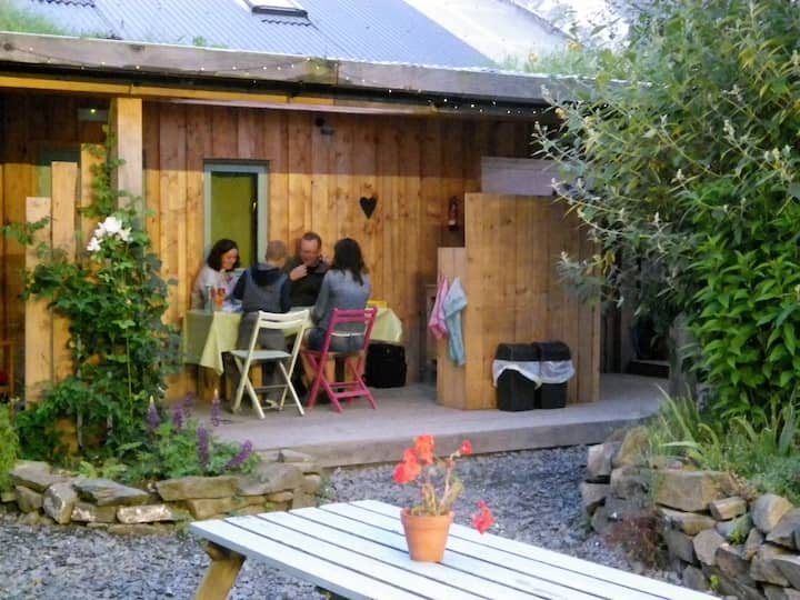 Summer family holiday lodge