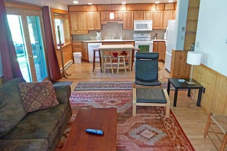 Leaning Balsam Apartment - Lake Placid