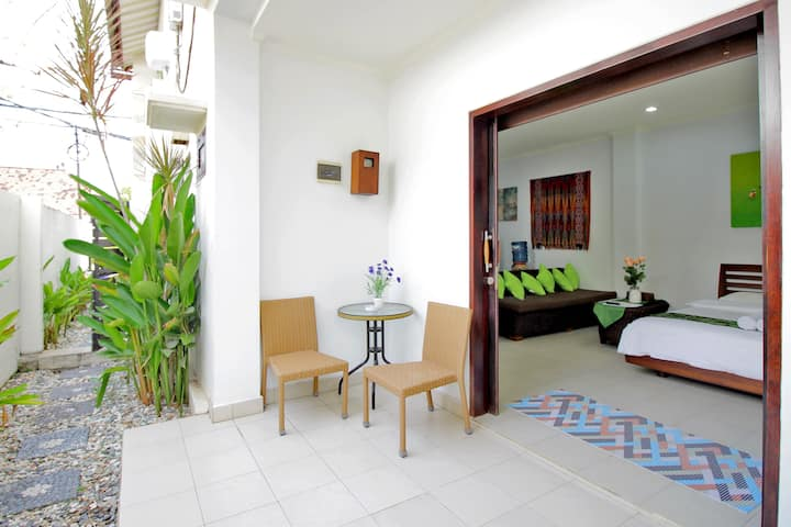 "ABC Apartment Room No. 3 with terrace ""+75% PROMO'"