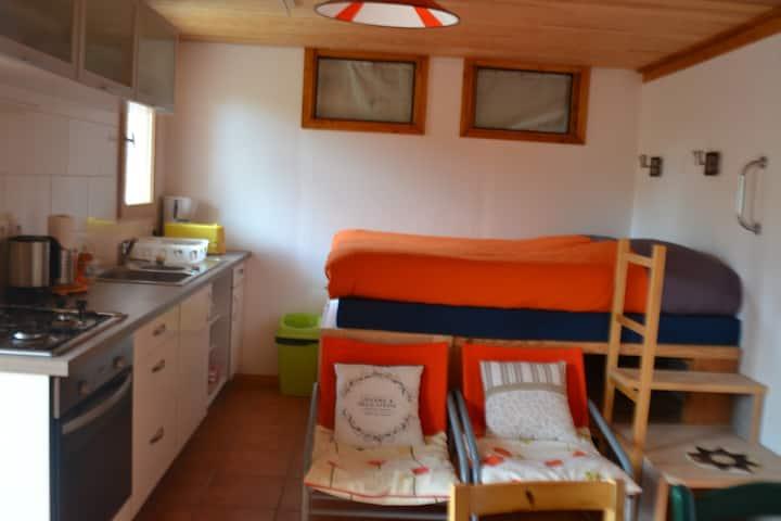 Petit appartement à la montagne en rez-de-jardin