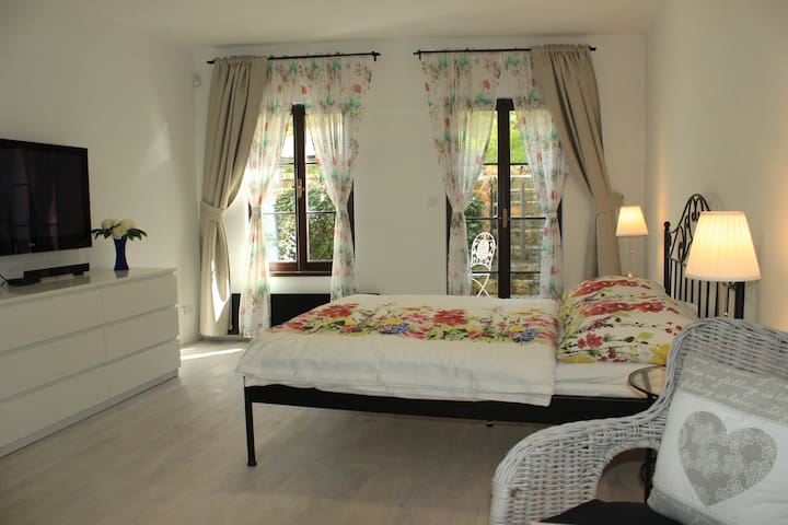 Summer Garden Studio+free parking - Praha - Appartement
