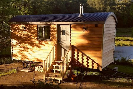 Bramble Bothy - our quirky Shepherd's hut