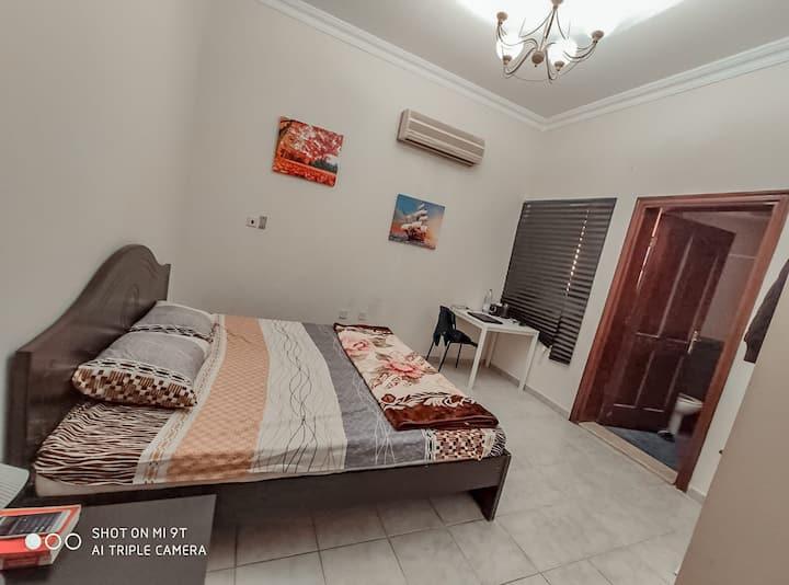 """Feels like home"" Master bedroom , Superb Location"