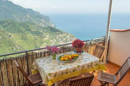 CONCETTA'S SEA VIEW HOUSE - Ravello - Appartement