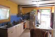 La cocina-sala
