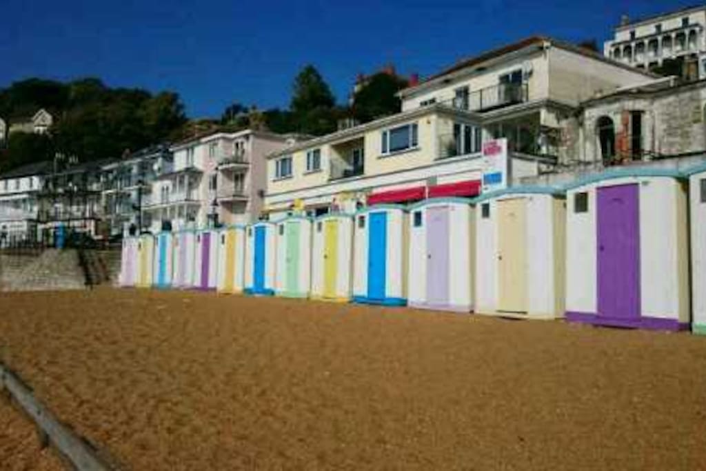 Ventnor Beach Huts for Hire