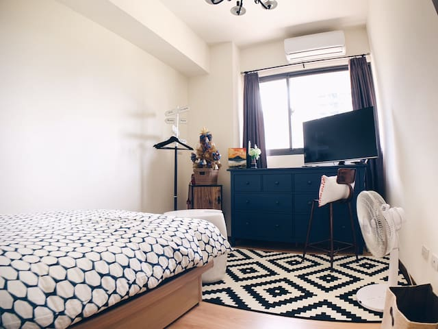 獨立臥室/private bedroom