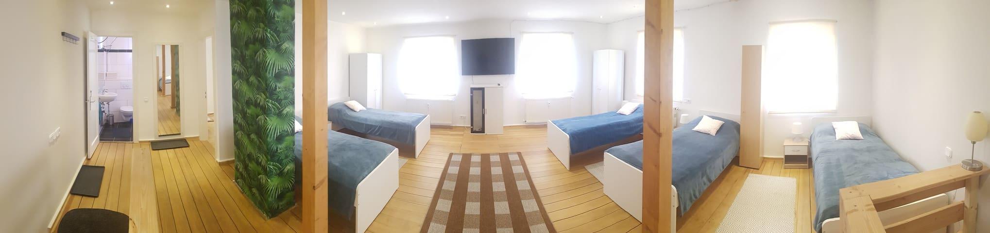 FloorOne - Amazing Apartment,Cozy & Central 5beds