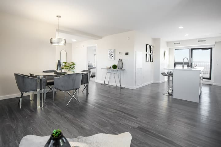 Luxurious 2 bed/2 bath penthouse in heart of City