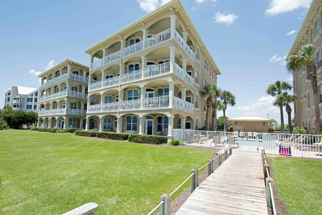 Welcome to Monterey B-101! Located in a private community right along Seacrest Beach!