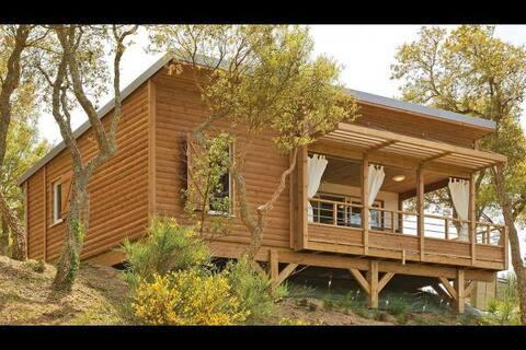 Cottage dans centre spa-balnéo au bord de l'étang