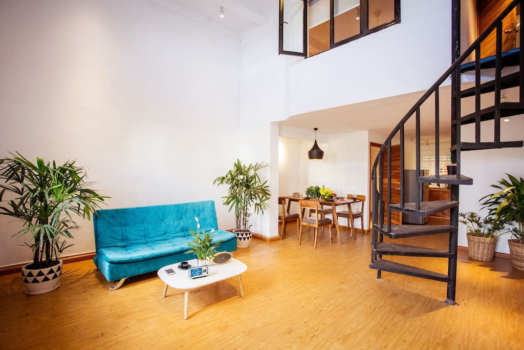 Spacious! Isn't it? I know this space fits best for you and your family indeed